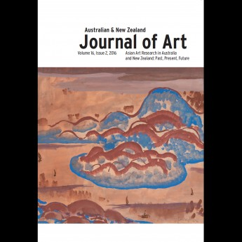 The Latest Issue of the Australian and New Zealand Journal of Art