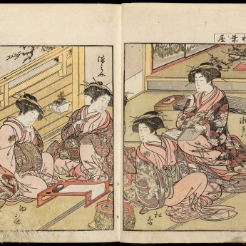 9 March, 6.00pm – Sydney Asian Art Series: Marketing Pleasure for Profit: The Mirror of Yoshiwara Beauties, Compared