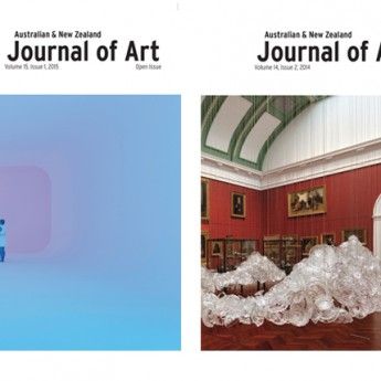 Have you been reading the Australian & New Zealand Journal of Art?
