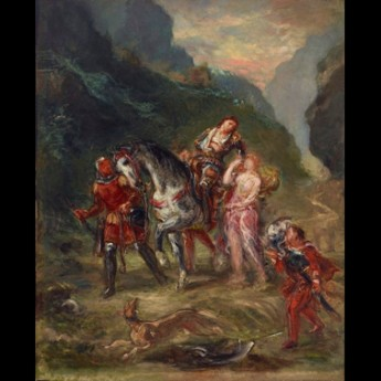 26 October, 12-12.30pm – Power floortalk: Eugene Delacroix, 'Angelica and the Wounded Medoro'