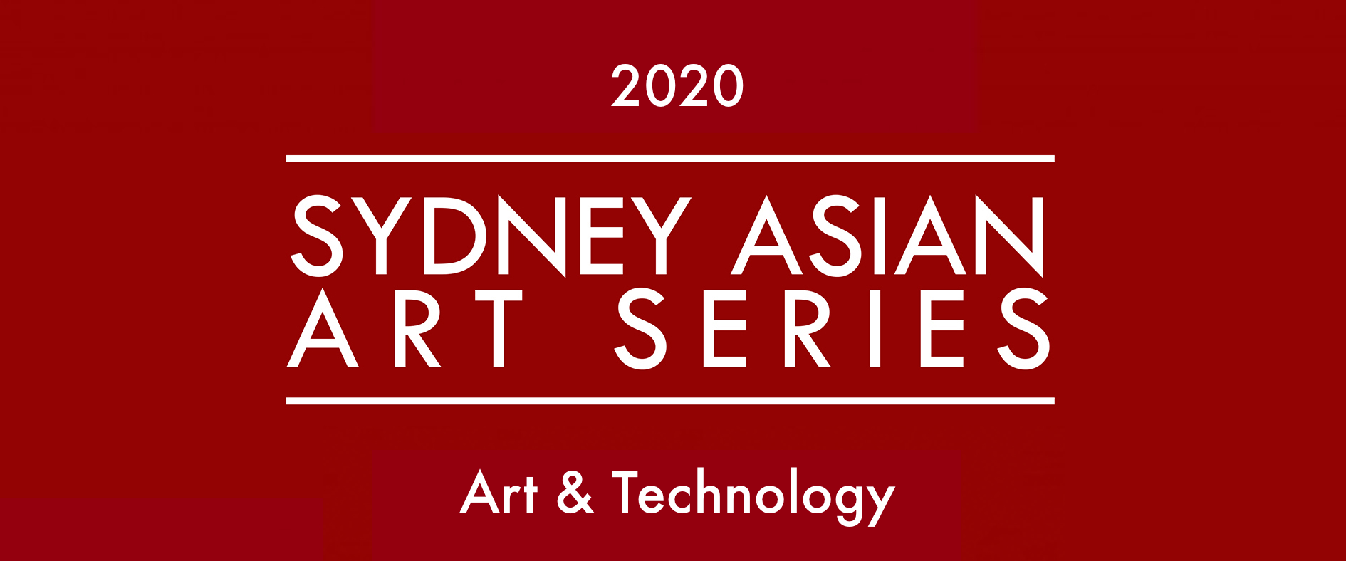 Sydney Asian Art Series 2020