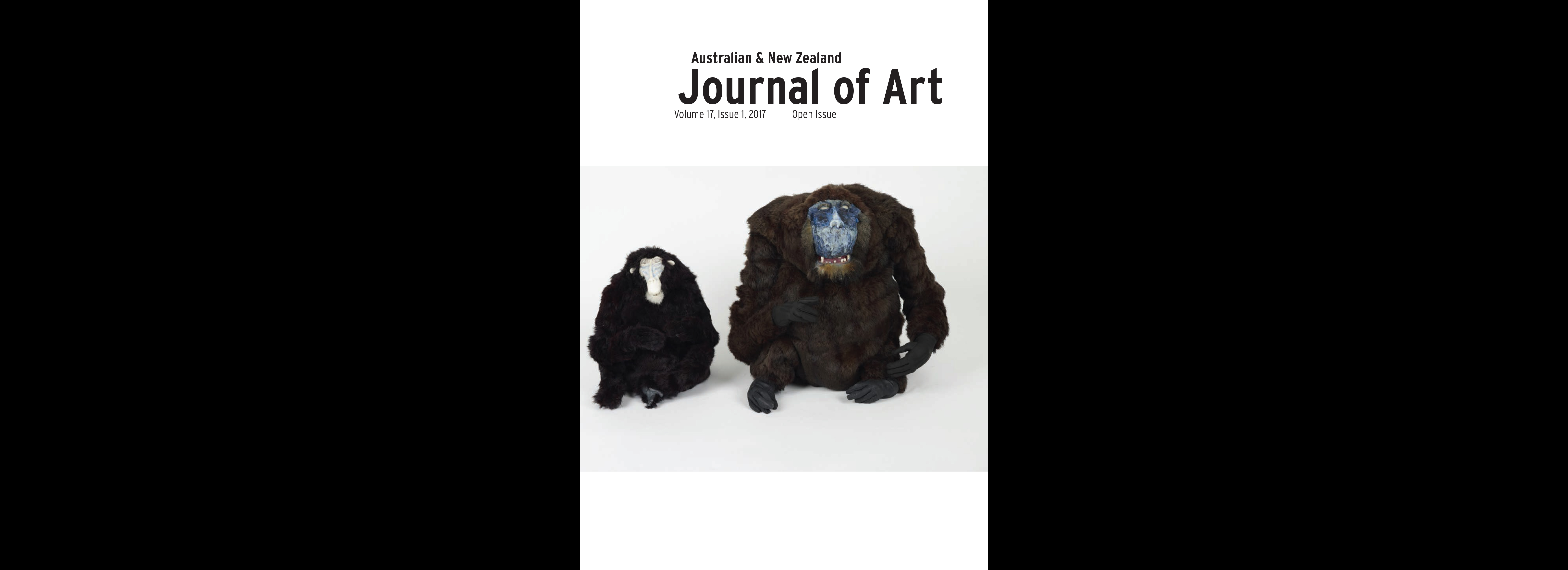 Call for papers: Australian and New Zealand Journal of Art, Issue 2, 2018.